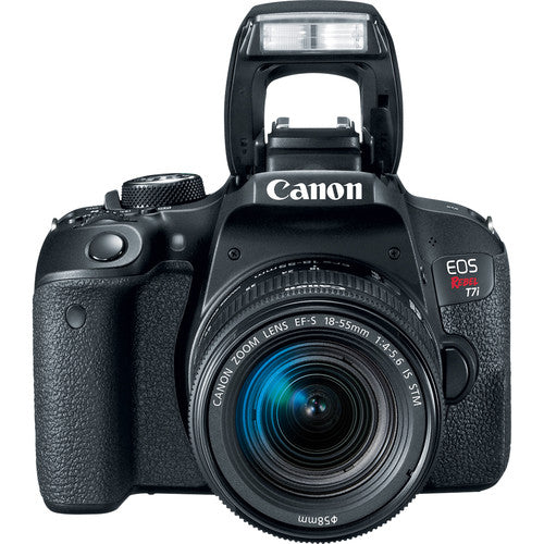 Canon EOS Rebel T7i DSLR Camera with 18-55mm STM Lens Kit