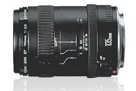 Canon EF 135mm f-2.8 with Softfocus Telephoto Lens