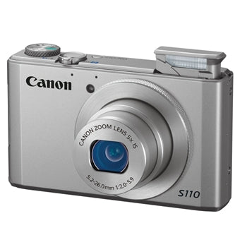 Canon PowerShot S110 Compact Digital Camera (Silver)