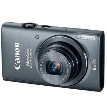 Canon PowerShot ELPH 130 IS 16MP Digital Camera with 8x Optical Zoom (Gray)