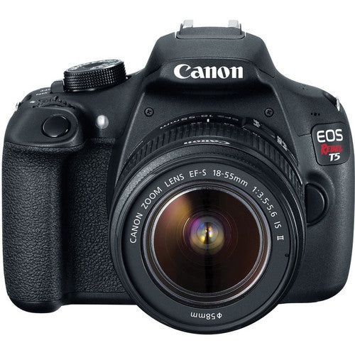 Canon EOS Rebel T5 DSLR with 18-55mm IS II Lens