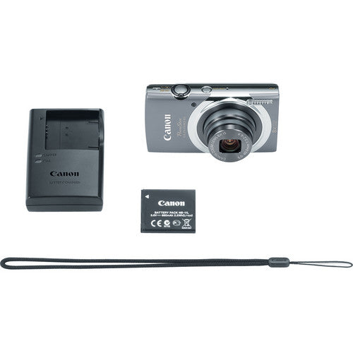 Canon PowerShot ELPH 140 IS (Gray)