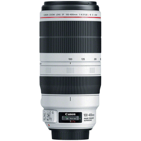 Canon EF Telephoto Zoom 100-400mm IS II USM Lens with Care Kit