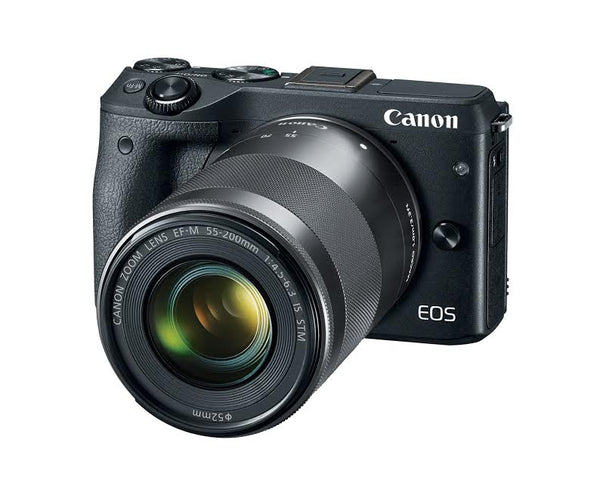 Canon EOS M3 Mirrorless Digital Camera with Two Lens Kit