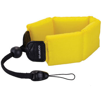 Olympus Float Strap (Yellow) with Accessories