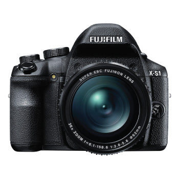 FujiFilm X-S1 Premium Bridge Digital Camera (BLACK)