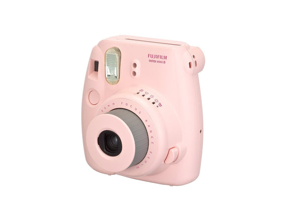 FujiFilm Instax Mini 8 Instant Camera with 60mm Lens (Pink)
