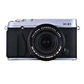FujiFilm X-E1 XF-Series ILC Camera with XF 18-55mm F-2.8-4 OIS Zoom Lens (SILVER)