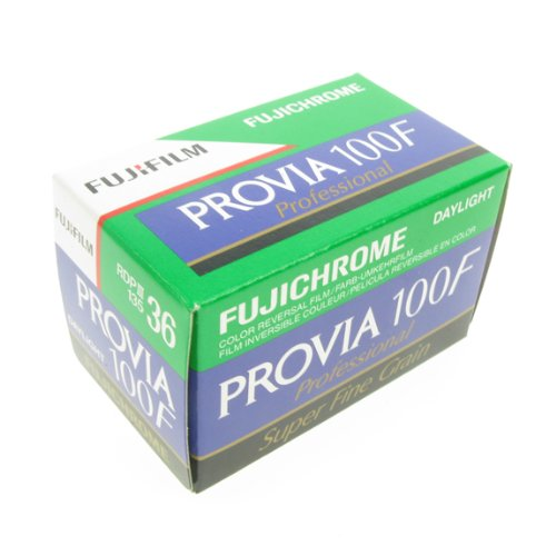FujiFilm Fujichrome 35mm Provia 100F Color Film - 36 Exposures