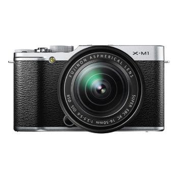 FujiFilm X-M1 XF-Series ILC Camera with XC 16-50mm f-3.5-5.6 OIS Zoom Lens (Silver)