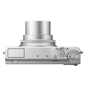 FujiFilm XQ1 12MP Digital Camera (Silver)