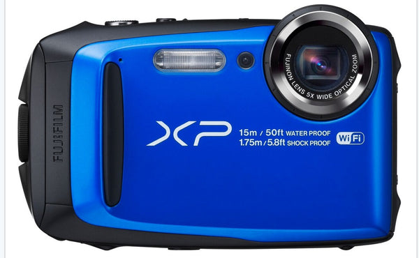 FujiFilm FinePix XP90 Waterproof Digital Camera (Blue)