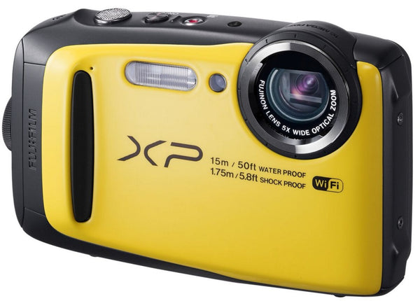FujiFilm FinePix XP90 Waterproof Digital Camera (Yellow)