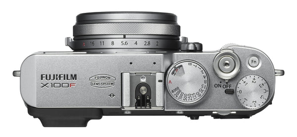 FujiFilm X100F 24.3MP Compact Digital Camera (Silver)