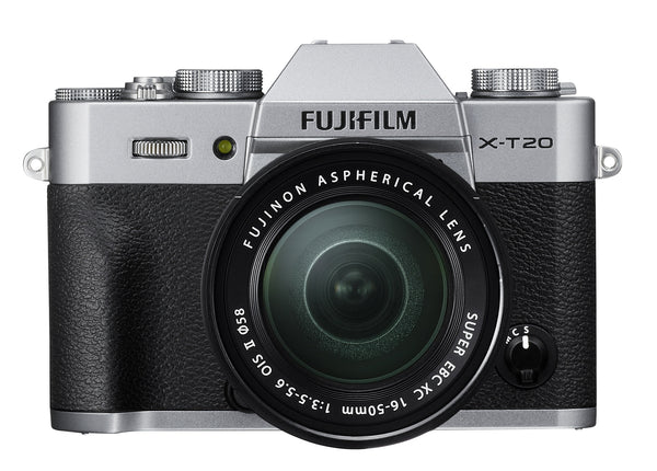 FujiFilm X-T20 Mirrorless Camera with 16-50mm and 3 Accessories