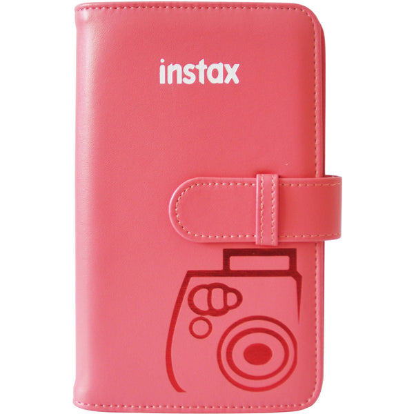 FujiFilm Instax Mini Wallet Album (Raspberry)