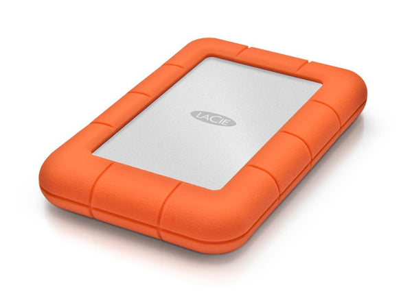 Gnarbox Portable Backup and Editing System 256GB with LaCie Rugged Mini 1TB Hard Drive and Memory Card