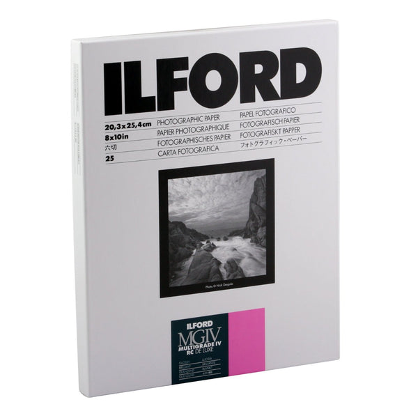 Ilford RC PAPER GLOSSY 25 SHEETS
