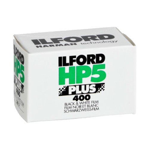 Ilford HP5 Plus ISO 400 35mm Black and White Film, 36 Exposures