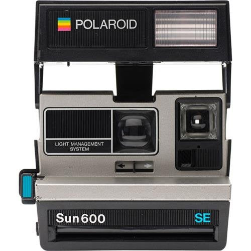Impossible Polaroid 600 Square Silver Camera Certified Refurbished