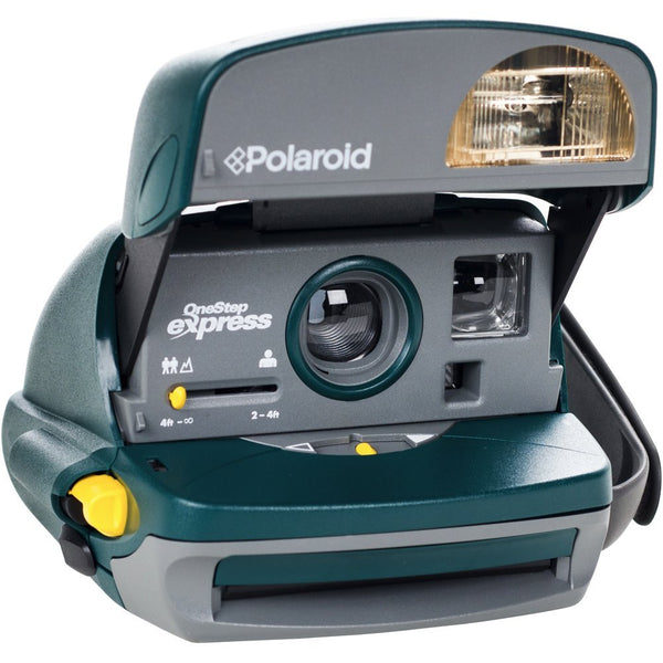 Impossible Polaroid 600 Instant Camera (Green) (Certified Refurbished)