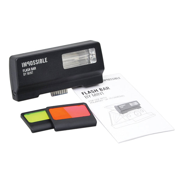 Impossible Project Flash Bar 2 by MiNT for Polaroid SX-70-Type Cameras