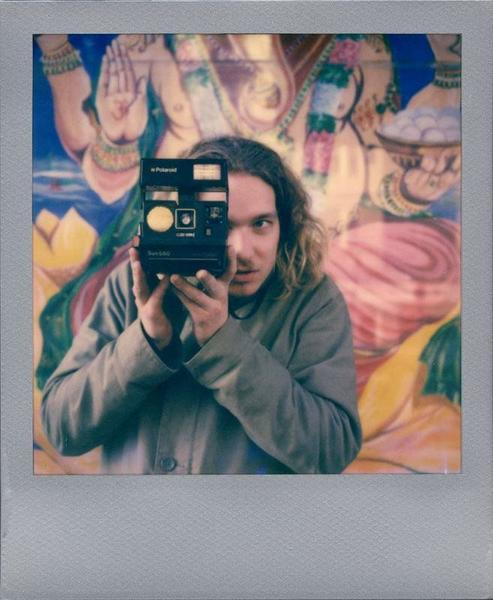 Impossible Project Film for Polaroid 600, Color, Silver Frame