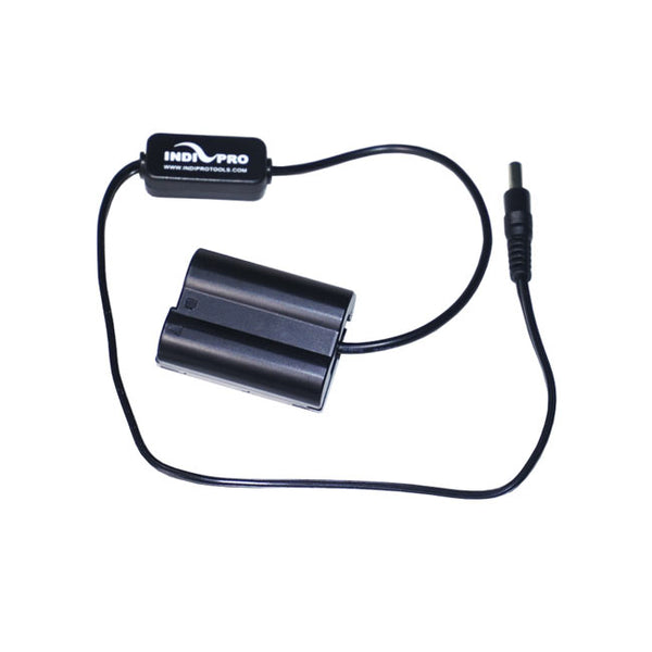 IndiPRO Tools 2.5mm To Nikon EN-EL15 Type Dummy Battery (20 inch)