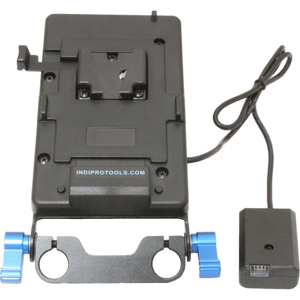 IndiPRO Tools V-Mount Plate to Sony NP-FW50 Dummy Battery