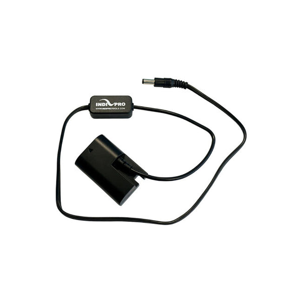 IndiPRO Tools 2.5mm DC Power Cable to Canon LP-E6 Dummy Battery