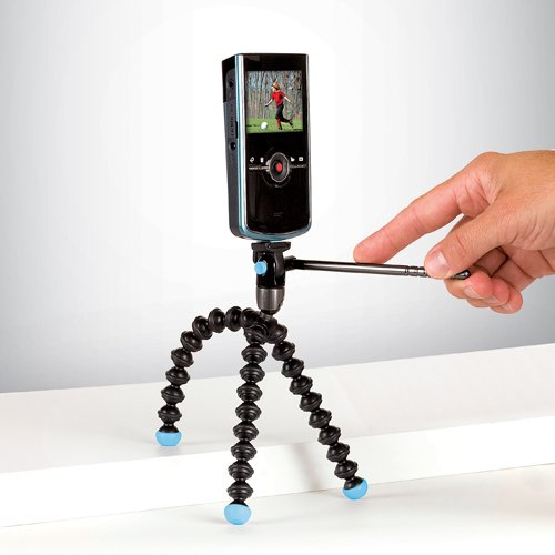 Joby GorillaPod Video - Black-Blue