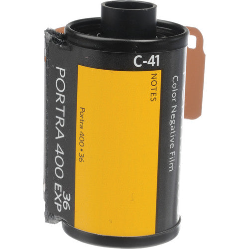 Kodak Portra 400 Color Negative Film, 35mm, 36 Exp, (5 Roll Pack)