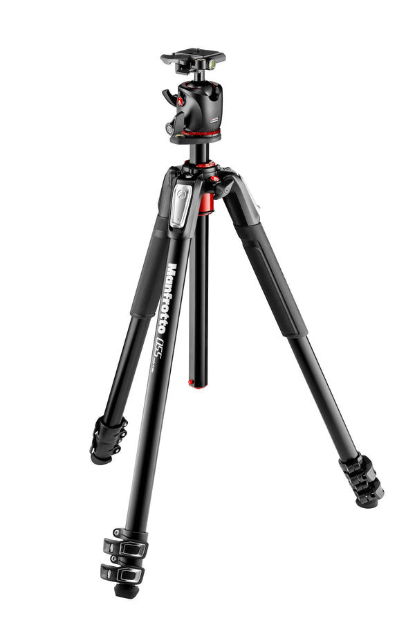 Manfrotto 190 Aluminum 3-Section Tripod with XPRO Ball Head + QR Plate