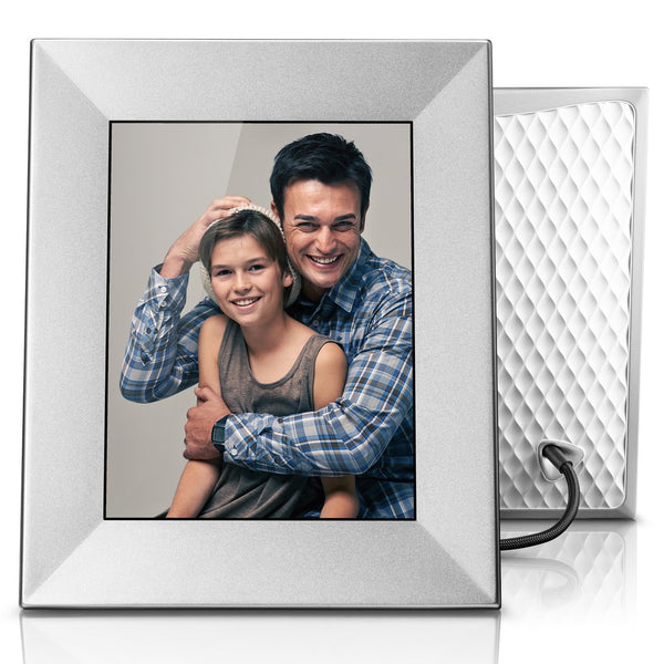 Nixplay Iris 8 inch WiFi Cloud Frame - Silver
