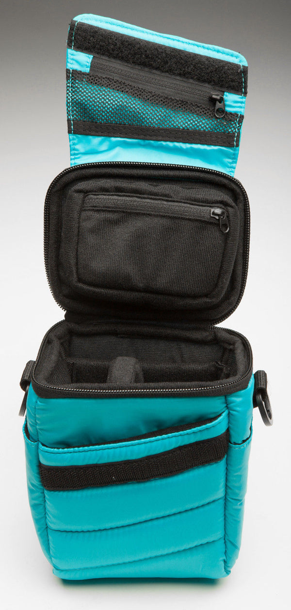 NXE Micropuff 1.5L ILC Camera Case - Aqua Blue