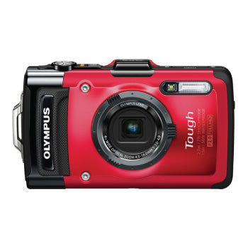 Olympus Tough TG-2 iHS Waterproof Digital Camera (Black)