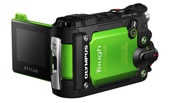 Olympus Stylus TG-Tracker 8MP Action Camera (Green)