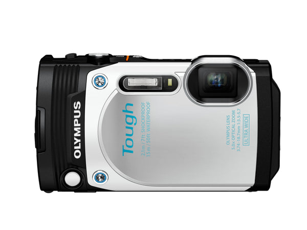 Olympus Stylus Tough TG-870 16MP Digital Camera (White)