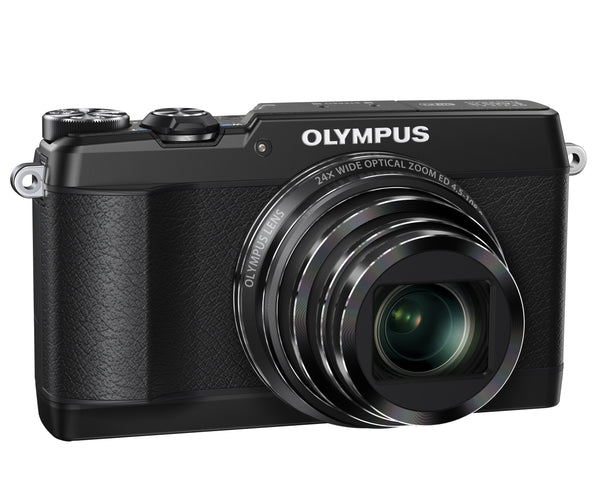 Olympus Stylus SH-1 16MP Compact Digital Camera (Black)