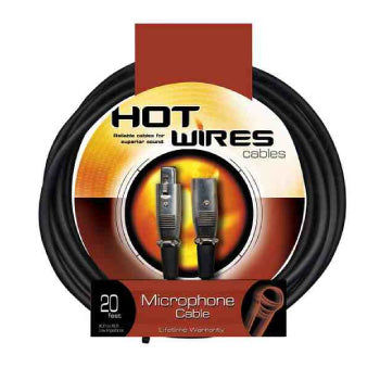 On Stage Stands HW MC12-15 MIC CABLE 15'