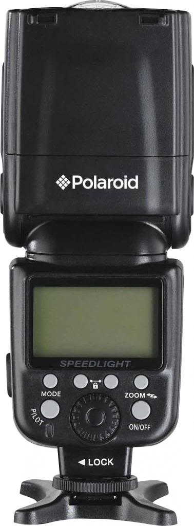 Polaroid PL-190C Bounce & Swivel Flash for Canon Cameras