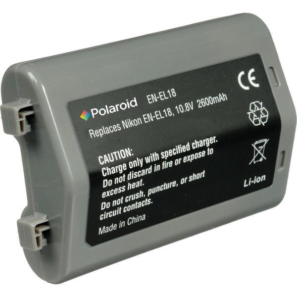 Polaroid EN-EL18 Battery for Nikon Cameras