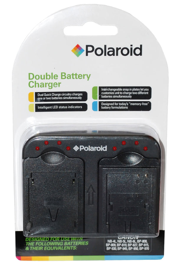 Polaroid Dual Battery Charger for Nikon Batteries