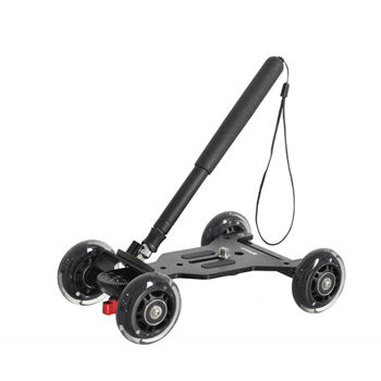 Polaroid PL-STATT Rolling Mini Dolly System with Pole Handle