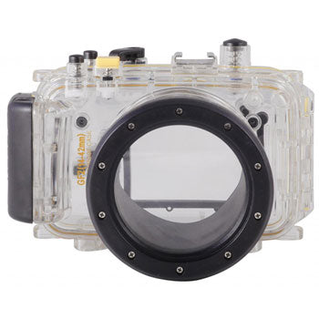 Polaroid Dive Rated Waterproof Underwater Housing for Lumix GF2 with 14mm Lens