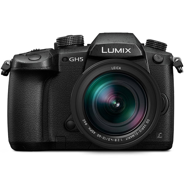Panasonic Lumix GH5 4K Camera with Leica 12-60mm F-2.8-4.0 Lens