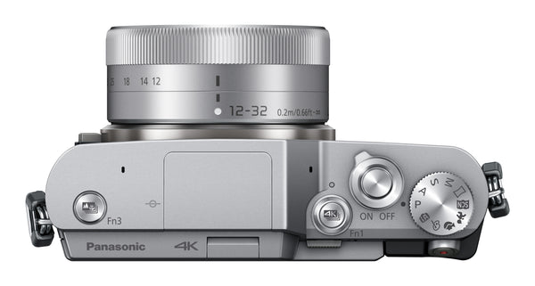 Panasonic Lumix GX850 Camera with 12-32mm Lens (Silver)