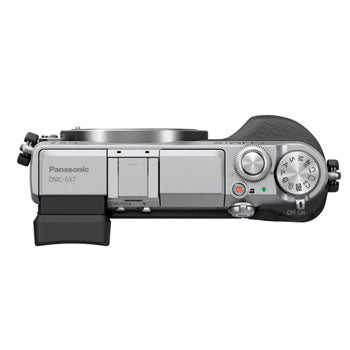 Panasonic LUMIX GX7 Micro 4-3 Camera with Tilt-Live Viewfinder (Body)