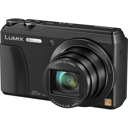 Panasonic LUMIX ZS35: The Travel Adventurists 20X Long Zoom Camera (Black)