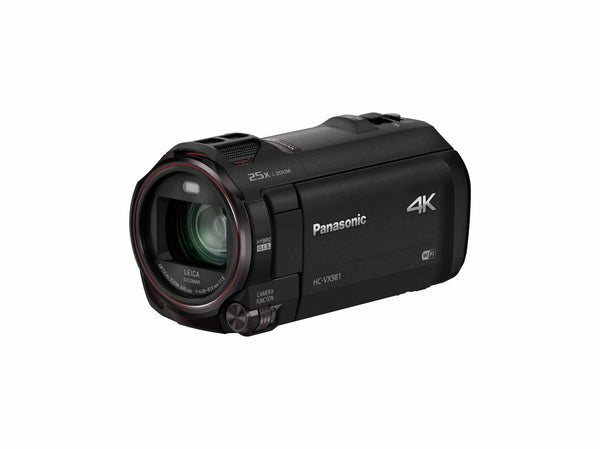 Panasonic VXF981 Ultra HD 4k Camcorder with Leica Zoom Lens